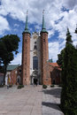 The cathedral in gdansk oliva poland Royalty Free Stock Image