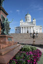 Cathedral in helsinki finland the is the landmark of the city Royalty Free Stock Photo