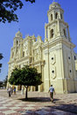 Cathedral hermosillo city state sonora mexico Royalty Free Stock Photography