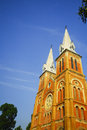 Cathedral in ho chi minh city vietnam with detail Stock Images