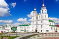 Cathedral of holy spirit in minsk main orthodox church belarus Royalty Free Stock Photography