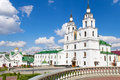 Cathedral of holy spirit in minsk main orthodox church belarus Royalty Free Stock Photos