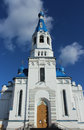 Cathedral of the holy virgin in the city of gatchina leningrad region spring Royalty Free Stock Photography