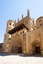 Cathedral of huesca transfiguration the lord aragon Royalty Free Stock Image
