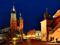 Cathedral of Krakow Stock Photography