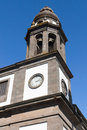 Cathedral of la laguna bell tower the in tenerife spain Royalty Free Stock Image