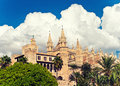Cathedral la seu of palma de mallorca balearic island spain Stock Photos