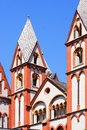 Cathedral of limburg an der lahn the was built in Stock Images