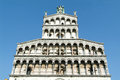 The cathedral of lucca on italy Royalty Free Stock Photography