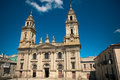 Cathedral of Lugo in Galicia Stock Photo