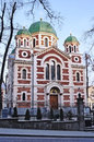 Cathedral in Lvov Royalty Free Stock Photo