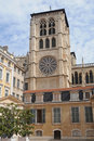 Cathedral in Lyon Royalty Free Stock Images