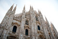 Cathedral in milan italy europe Stock Image