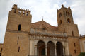 Cathedral of monreale sicilia italy sicily Royalty Free Stock Photos