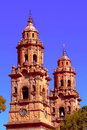 Cathedral of Morelia I Royalty Free Stock Photo