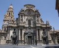 Cathedral of Murcia Royalty Free Stock Photos