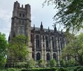 Cathedral in new york the of saint john the divine located usa Stock Photography