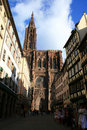 Cathedral Notre dame de Strasbourg Stock Photo