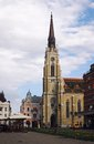 Cathedral in novi sad serbia saint george s and town square Royalty Free Stock Photo