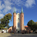 Cathedral in Oliwa Stock Photos