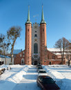 Cathedral in Oliwa Royalty Free Stock Images