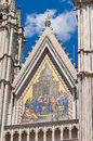 Cathedral of Orvieto. Umbria. Italy. Royalty Free Stock Image