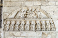 Cathedral of Osimo (Ancona) Royalty Free Stock Photography