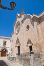 Cathedral of Ostuni. Puglia. Italy. Royalty Free Stock Photo