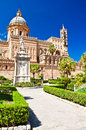 The Cathedral of Palermo Stock Photos