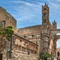 The cathedral of palermo is an architectural complex in palermo sicily southern italy Royalty Free Stock Image