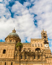 Cathedral of palermo the is an architectural in sicily italy dedicated to the virgin maria it is characterized by the Stock Image