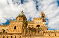 Cathedral of palermo the is an architectural in sicily italy dedicated to the virgin maria it is characterized by the Stock Photos