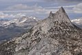 Cathedral Peak and Mount Conness Stock Photography