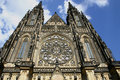 Cathedral of prague Stock Photos