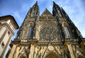 Cathedral in Prague Stock Image
