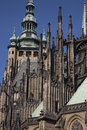 Cathedral, Prague; Czech Republic; Stock Images