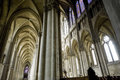 Cathedral of Reims - Interior Stock Photography