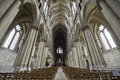 Cathedral of Reims - Interior Stock Image