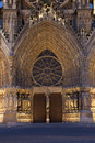 Cathedral of reims marne champagne ardenne france Stock Photography