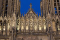 Cathedral of reims marne champagne ardenne france Stock Image