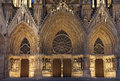 Cathedral of reims marne champagne ardenne france Royalty Free Stock Photography