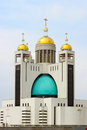 Cathedral of the resurrection of christ kiev or orthodox s main ukrainian Royalty Free Stock Image