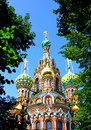 Cathedral of the resurrection on spilled blood in st petersbur church our savior petersburg Stock Images
