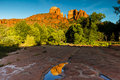Cathedral Rock Arizona Royalty Free Stock Photo