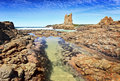 Cathedral Rock Kiama Royalty Free Stock Photo