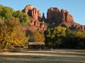Cathedral rock one of the most photographed landmarks in sedona arizona Stock Photo