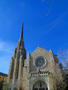 Cathedral of the rockies boise idaho first united methodist opened in in and is a famous landmark Stock Photography