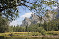 Cathedral rocks yosemite national park Royalty Free Stock Photo