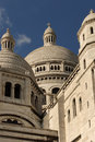 Cathedral Sacre Coeur de Paris. France. Stock Photography