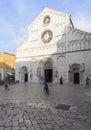 Cathedral of saint anastasia zadar dalmatia croatia europe Royalty Free Stock Photo